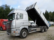 Used Scania R480 6X4 Tipper - Left Hand Drive - Stock no: 12951