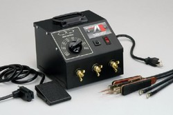 American Beauty Tools 105K5-220, Ultra-High Capacity Tweezer-Style Resistance Soldering System, 220VAC
