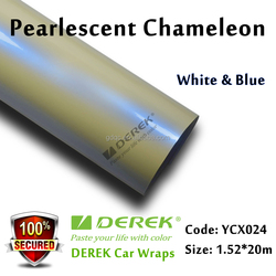 Factory Price Hot Sale Glossy Pearl Blue Auto Vinyl Film Paper Car Wrap