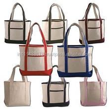 Alibaba China custom durable large shopping canvas bag/reusable cotton bag/ canvas tote bag