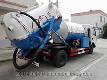 Sewage suction truck -- Sludge Tank Truck +Water Jet Cleaner