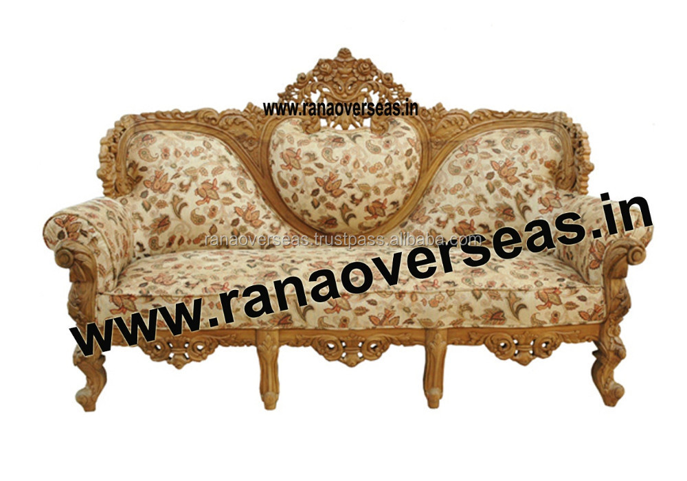 Wooden Sofa Set 1000 x 700