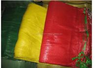 plastic raschel mesh bags PE Knitted mesh bag