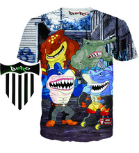 best sublimation t shirt with your own design/Sublimated All Over Printed Tshirts/3d dye sublimation t shirts for men&women/Berg