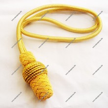 Military Sword Knot of Yellow Bullion Wire |Military Officers Sword Knot | Sword Knots and Bullion Tassels