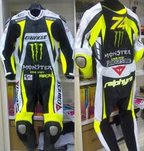 Motorbike Leather Racing Suit/Motorcycle Leather Racing Suit, Auto Moto suit WB-MS446