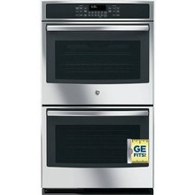 "GE JT5500SFSS 30"" Built-In Electric Double Convection Wall Oven"