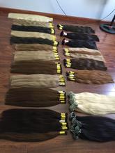 Variety number of colored bulk hair human hair