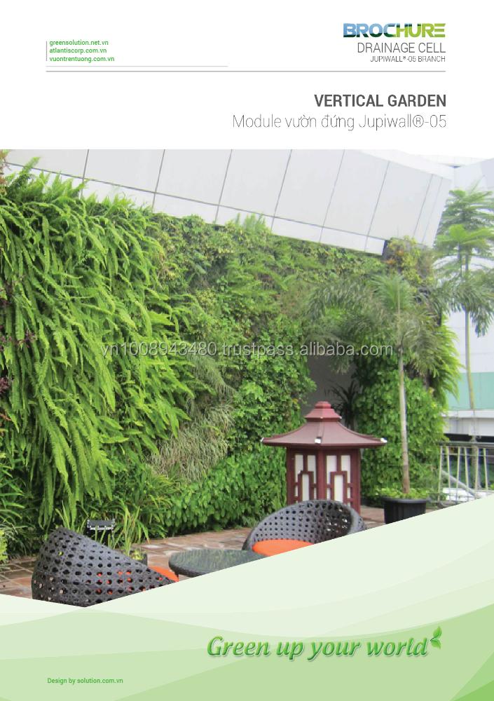 Greenwall System Vertical Garden Material Plastic Module