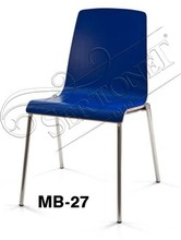Modern Matel Chair Eames DSW Dining Chair