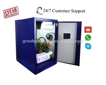 Hydroponic Indoor Gardening System Home Grow Box/Cabinet metal custom green house