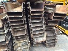Used sheet piles