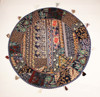 Beautiful Ethnic Indian Round Decorative Throw cushions Indian Pillow covers decor Meditation Cushion