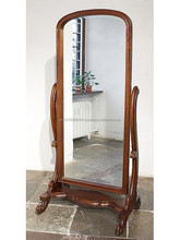 Country style rocking mirror