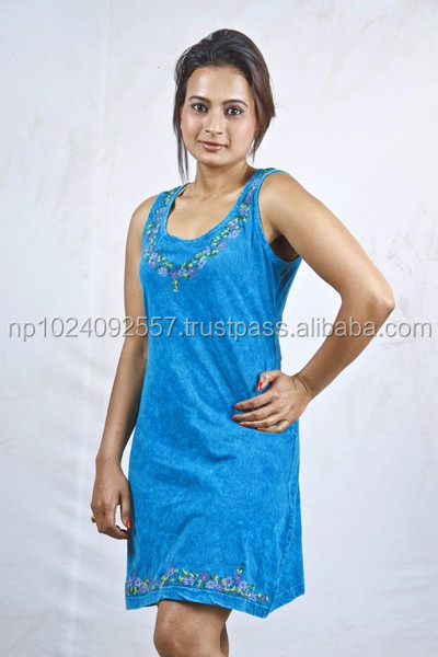 Plain Tunic Dress Tunics/nepal/skirts/dresses/
