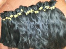 100% Human Hair for Braiding Bulk No Attachment Unprocessed Bulk Brazilian Virgin Hair