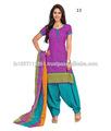 Bandhani vestido de material/niñas vestido de algodón materiales