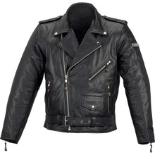 Motorbike Leather Jacket/ best quality by taidoc