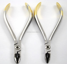 Micro Fine + Regular Dental Wire Cutters Orthodontic Dentist Instruments / Dental Instruments