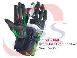 Motorcycle Riding Gloves, Professional Motorbike Leather Gloves