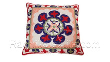 RTHCC-94 Woolen Suzani Embroidery Cotton Fabric Cushion Pillow Covers Manufacturs