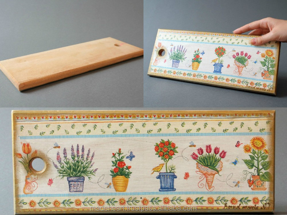 Decorative Product Board : Decorative cutting board quot flowers buy gift wall