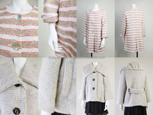 Fashionable and Luxury cute japanese knit for mature woman , small lot order available