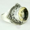 Special Yellow secret Citrine 925 Sterling Silver Ring, Wholesale Silver Jewelry, Silver Jewellery