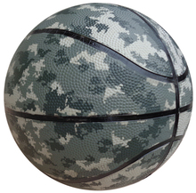 Leather Material Camouflage Basketballs