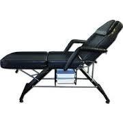 "Black Portable 84"" Massage Bed Table Case T1 Chair Spa Facial Salon"
