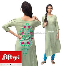 Party Wear Stylish & Fashionable Long Kurti For Ladies