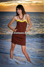 New design fashion beach dress,Bali Sexy Wonderful Simple Beach Dress with Braid String