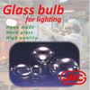 Handmade and High quality glass bulb for hid lamp at reasonable prices , OEM available