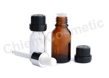 Essential Oil Glass Bottle With Dropper #DP15E 5 10, 15, 20, 30, 50,100 ml
