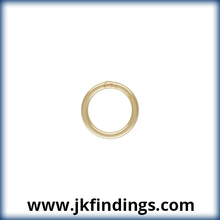 "1/20 14K Gold Filled Jewelry Findings Jump Ring 20.5ga .030x.240""(0.76x6.0mm) CL"