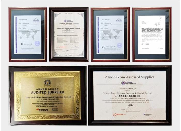 Highest Level Customized Aluminium Textile Frame