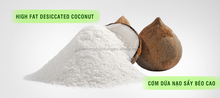 DESICCATED COCONUT POWDER LOW FAT/ HIGH FAT