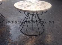 Encaustic cement tiles CTS Mosaic Table 2