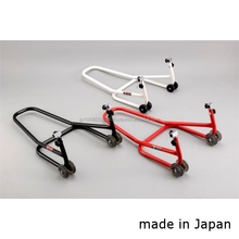 Reliable made-in-Japan brackets for stand for various motorcycles