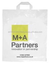 Innovation in Partnership Soft Loop Handle Bag Plastic Bags Flexi Loop Handle bag Made In Vietnam