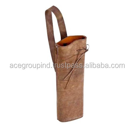 Back Quiver Hunting Archery Quivers Leather Back