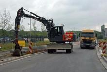 Atlas 180 Wsr wheeled excavator