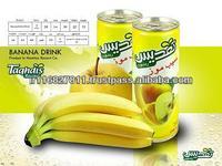 Iran canned apple banana juice