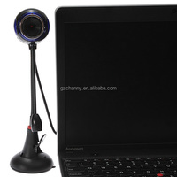 USB 2.0 HD Webcam Web Cam Video Camera With Microphone Sucker Stand For PC Computer Laptop Notebook