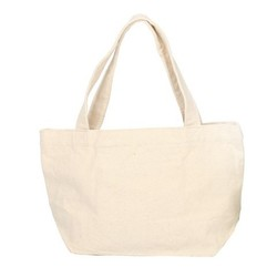 Blank Cotton Canvas Tote Bags for Promotion and Shopping