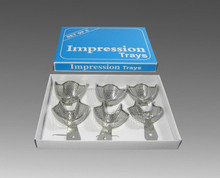 Autoclavable Dental Impression Trays Dental Central Dental Supply / Stainless Steel Dental Impression Trays Upper and Lower