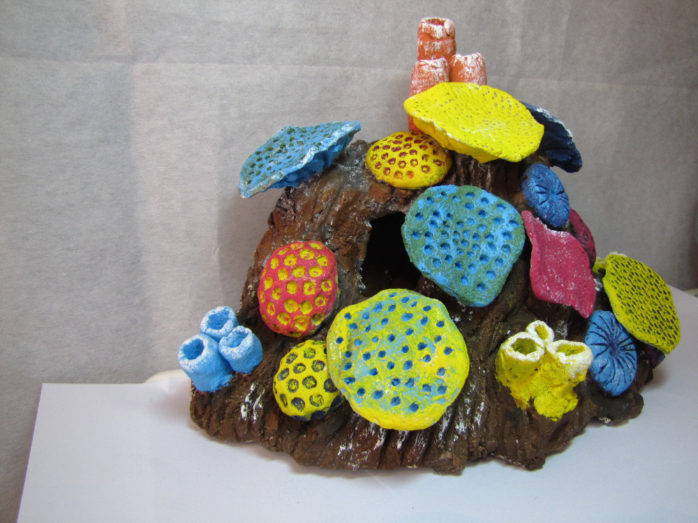 how to make artificial coral reef