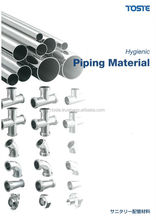 japanese stainless steel hygienic piping and valve penang company use