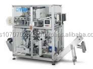 Capsule packaging machine dual use Nespresso and Lavazza compatible