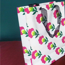 wholesale paper shopping bag, luxury paper shopping bag full color printing